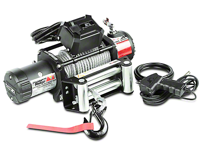 Rugged Ridge Nautic 12,500 lb. Winch w/ Steel Cable