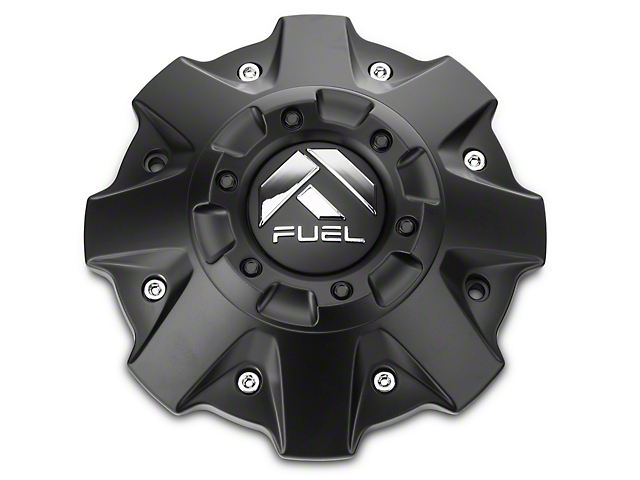 Fuel Wheels Center Cap; Black (07-20 Sierra 1500)