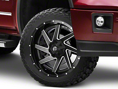 Fuel Wheels Renegade Black Milled 6-Lug Wheel - 22x10 (07-18 Sierra 1500)