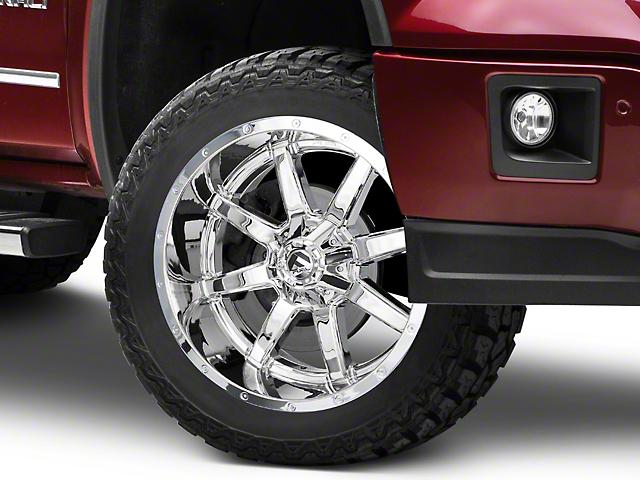 Fuel Wheels Maverick Chrome 6-Lug Wheel - 22x10; -24mm Offset (07-19 Sierra 1500)