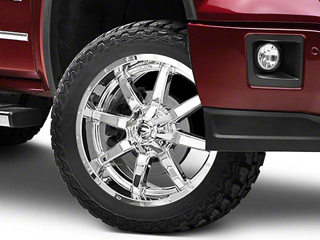 Fuel Wheels Maverick Chrome 6-Lug Wheel - 22x9.5; 25mm Offset (07-19 Sierra 1500)