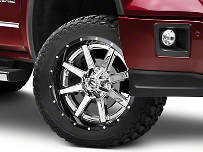 Fuel Wheels Maverick Chrome w/ Gloss Black Lip 6-Lug Wheel - 22x10 (07-18 Sierra 1500)