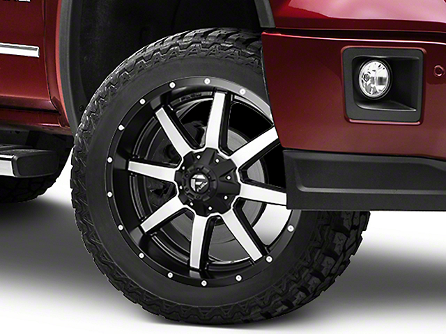 Fuel Wheels Maverick Black Machined 6-Lug Wheel - 22x9.5 (07-19 Sierra 1500)