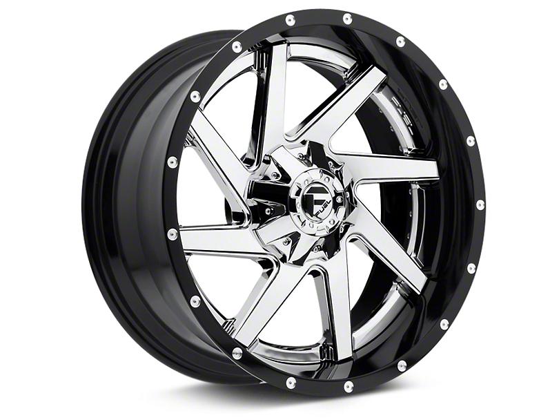 Fuel Wheels Renegade Chrome w/ Gloss Black Lip 6-Lug Wheel - 22x10 (07-19 Sierra 1500)