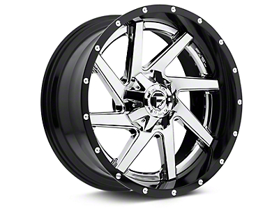 Fuel Wheels Renegade Chrome w/ Gloss Black Lip 6-Lug Wheel - 22x10 (07-18 Sierra 1500)
