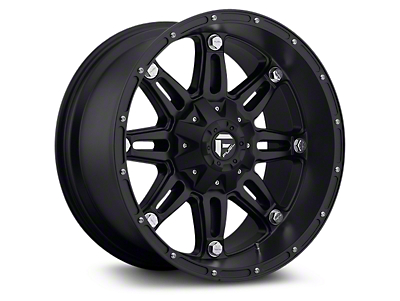 Fuel Wheels Hostage Matte Black 6-Lug Wheel - 22x9.5 (07-18 Sierra 1500)