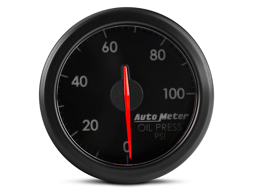Auto Meter AirDrive Oil Pressure Gauge; Electrical (Universal Fitment)