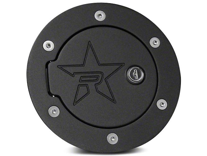 RBP RX-2 Series Locking Fuel Door - Polished (14-18 Sierra 1500)