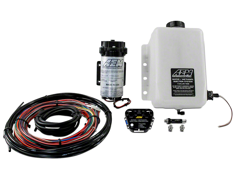AEM Electronics V2 Water/Methanol Injection Kit for Force Induction Engines - Multi-Input Controller (07-19 Sierra 1500)