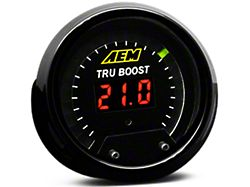 AEM Electronics Tru-Boost Controller Gauge; Electrical (Universal; Some Adaptation May Be Required)
