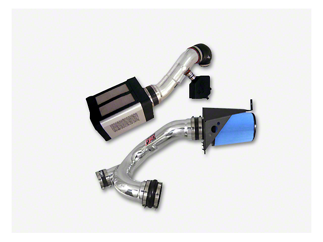 Injen Power-Flow Cold Air Intake - Wrinkle Black (14-18 6.2L Sierra 1500)