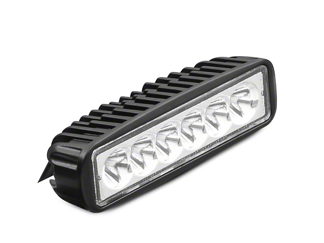 Raxiom 6-Inch Slim 6-LED Off-Road Light; Spot Beam