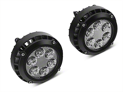 Black Horse Off Road LED Fog Lights (14-15 Sierra 1500)