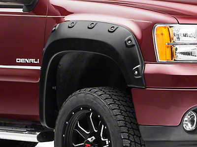 Barricade Premium Molded Fender Flares (07-13 Sierra 1500 w/ Standard or Long Box)