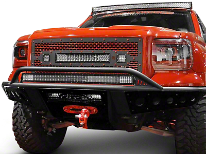 Addictive Desert Designs Stealth Front Bumper w/ Winch Mount (14-18 Sierra 1500)