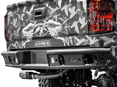 Addictive Desert Designs Dimple R Rear Bumper (14-18 Sierra 1500)