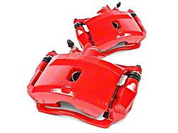 Power Stop Performance Front Brake Calipers; Red (07-18 Sierra 1500)