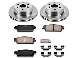 Power Stop OE Replacement Brake Rotor and Pad Kit; Rear (07-13 Sierra 1500 w/ Rear Disc Brakes)
