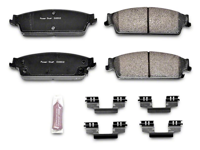 Power Stop Z23 Evolution Sport Ceramic Brake Pads - Rear Pair (07-13 Sierra 1500 w/ Rear Disc Brakes)