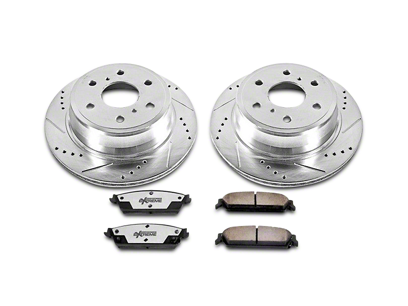 Power Stop Z36 Extreme Truck & Tow Brake Rotor & Pad Kit - Front (07-18 Sierra 1500)