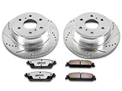 Power Stop Z36 Extreme Truck and Tow 6-Lug Brake Rotor and Pad Kit; Front (07-18 Sierra 1500)