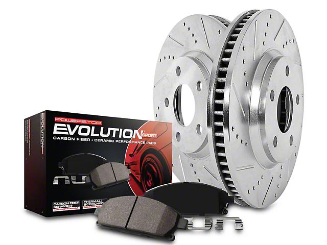 Power Stop Z23 Evolution Sport Brake Rotor & Pad Kit - Rear (14-18 Sierra 1500)