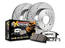 Power Stop Z36 Extreme Truck and Tow Brake Rotor and Pad Kit; Rear (14-18 Sierra 1500)