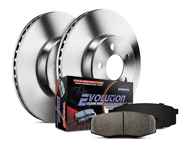 Power Stop OE Replacement Brake Rotor & Pad Kit - Rear (14-18 Sierra 1500)
