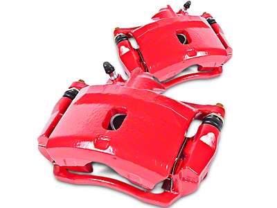 Power Stop Performance Rear Brake Calipers - Red (07-13 Sierra 1500 w/ Rear Disc Brakes; 14-18 Sierra 1500)