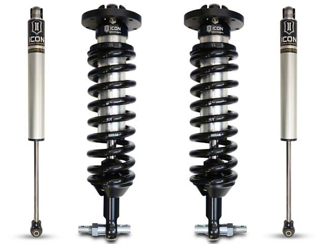 ICON Vehicle Dynamics 1-3 in. Suspension Lift System - Stage 1 (07-18 Sierra 1500 w/o Magnetic Suspension)