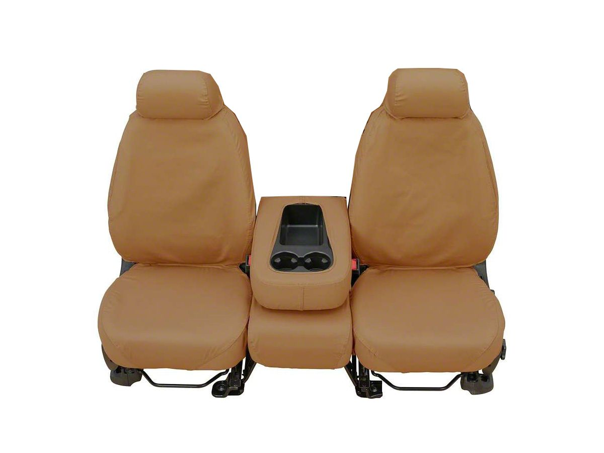 Marvelous Covercraft Seatsaver Front Seat Covers Tan 07 13 Sierra 1500 W Bench Seat Caraccident5 Cool Chair Designs And Ideas Caraccident5Info