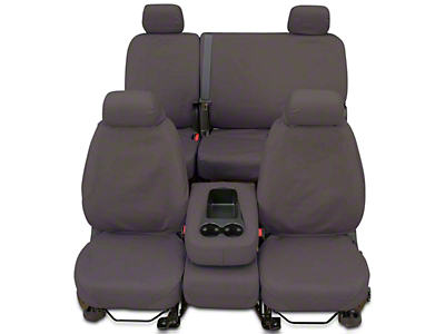 Covercraft Seat Saver Front Seat Covers - Gray (2017 Sierra 1500 w/ Bench Seat)