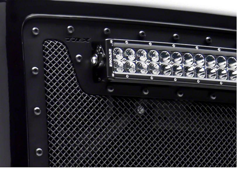 T-REX Stealth Metal Series Upper Grille Insert - Black (14-15 Sierra 1500)