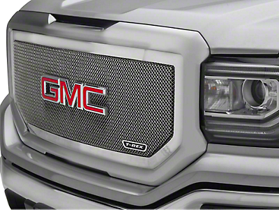 T-REX Upper Class Series Upper Mesh Grille Insert - Polished (16-18 Sierra 1500)