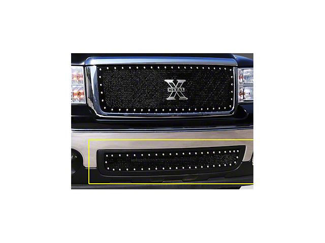 T-REX X-Metal Series Lower Bumper Grille Insert - Black (07-13 Sierra 1500)
