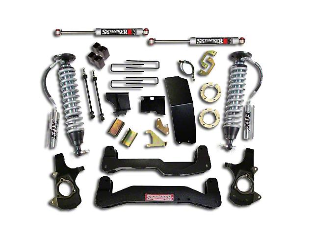 Fox Suspension Lift Kits >> Skyjacker Sierra 6 7 In Leduc Series Suspension Lift Kit W Fox