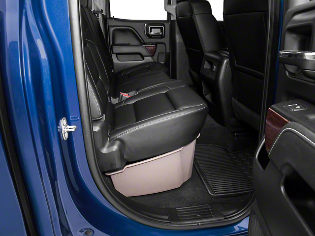 Underseat Storage - Tan (14-18 Sierra 1500 Double Cab, Crew Cab)
