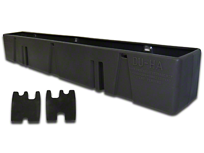 DU-HA Behind-the-Seat Storage - Black (07-13 Sierra 1500 Regular Cab)