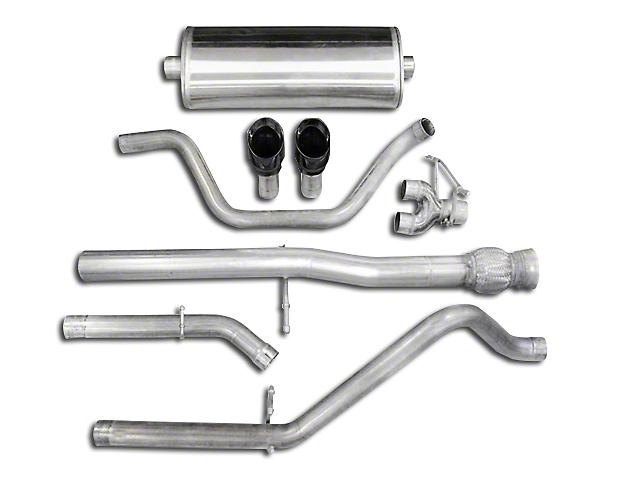Corsa 3 in. Sport Dual Exhaust System w/ Black Tips - Rear Exit (10-13 6.2L Sierra 1500)
