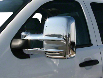 Putco Chrome Mirror Covers (07-15 Sierra 1500 w/ Towing Mirrors)