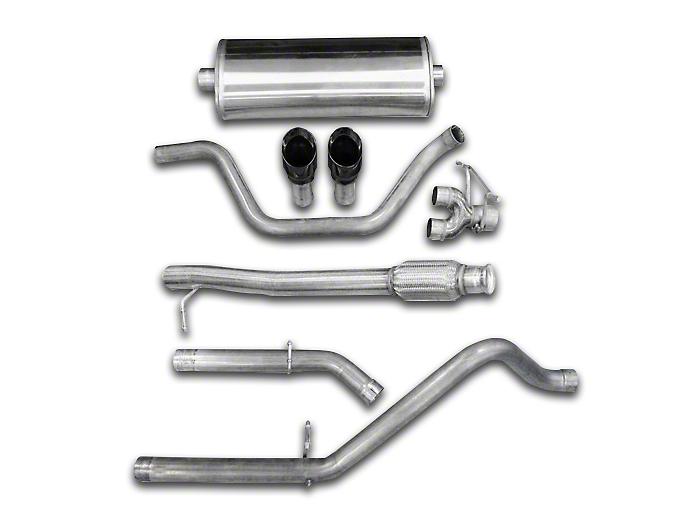 Corsa 3 in. Sport Dual Exhaust System w/ Black Tips - Rear Exit (07-13 4.8L Sierra 1500)