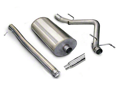 dB Performance by Corsa 3 in. Sport Single Exhaust System w/ Polished Tip - Side Exit (07-13 4.8L Sierra 1500)