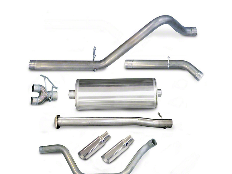 dB Performance by Corsa 3 in. Sport Dual Exhaust System w/ Polished Tips - Rear Exit (07-09 6.0L Sierra 1500, Excluding Hybrid)