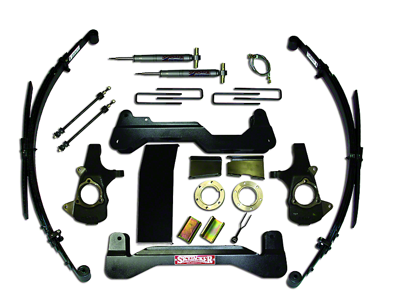SkyJacker 6 in. Standard Suspension Lift System w/ Shocks (07-13 4WD Sierra 1500)