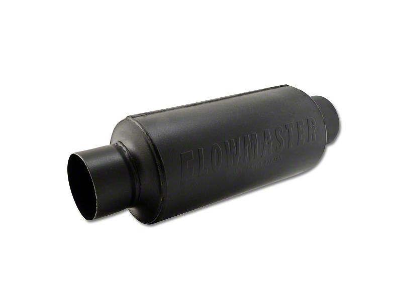Flowmaster Pro Series Shorty Center/Center Bullet Style Muffler - 3.0 in. (Universal Fitment)