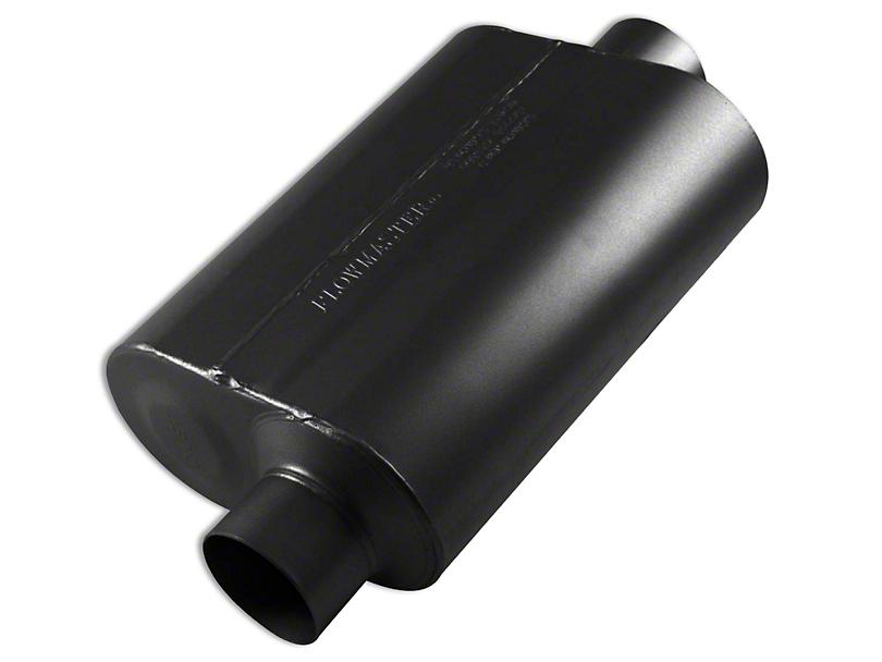 Flowmaster Super 40 Series Offset/Center Oval Muffler - 3.0 in. (Universal Fitment)
