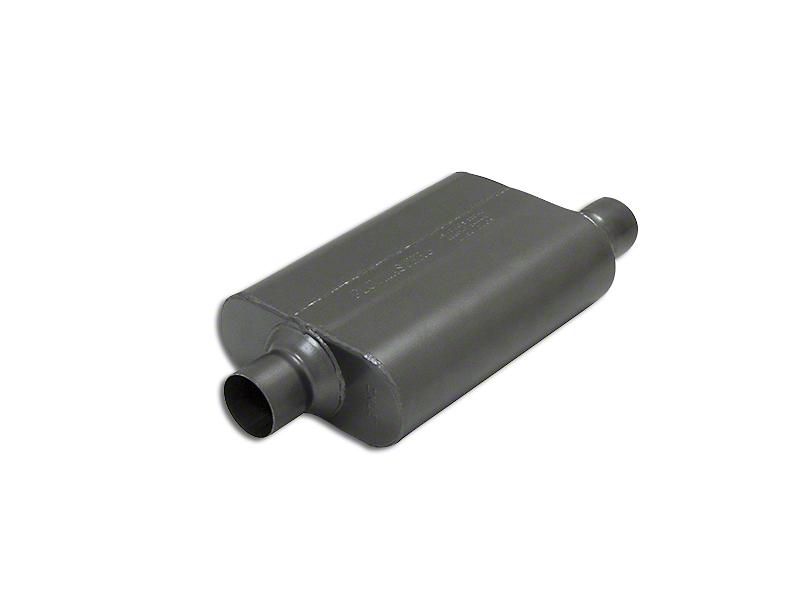 Flowmaster Super 44 Series Center/Offset Oval Muffler - 2.5 in. (Universal Fitment)