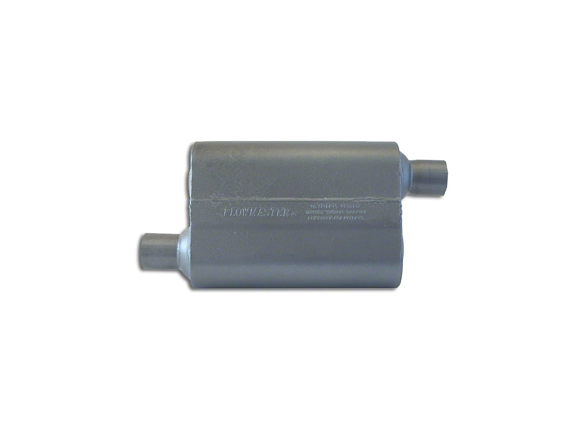 """Flowmaster 842448 Super 44 Series Muffler 2.25/"""" In//2.25/"""" Out//19/"""" Long"""