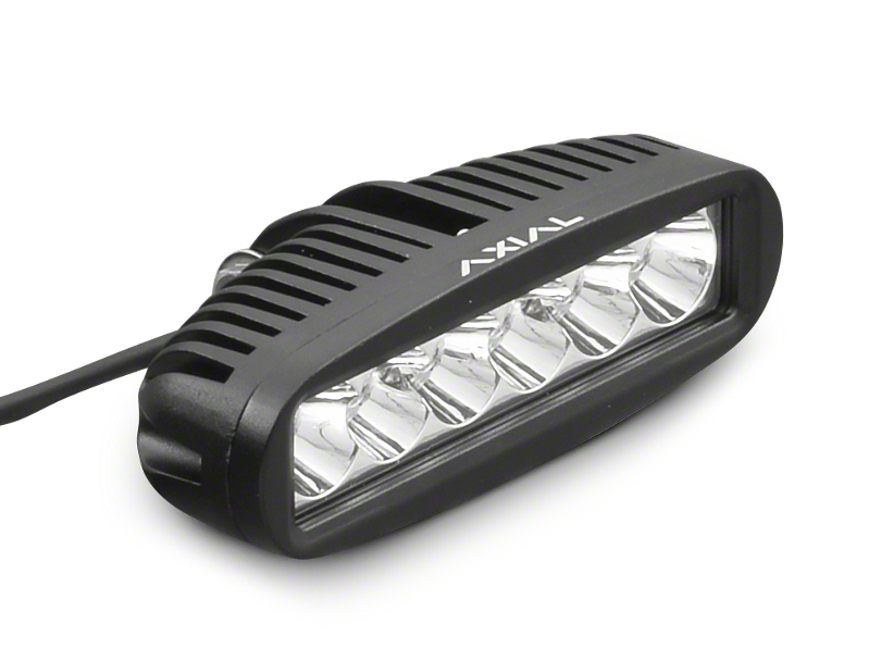 Axial 6 in. 6-LED Rectangular Light - Spot Beam