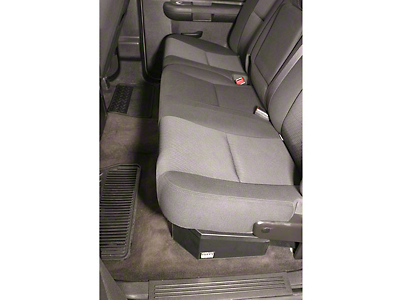 Tuffy Under Rear Seat Lockbox (07-18 Sierra 1500 Crew Cab)